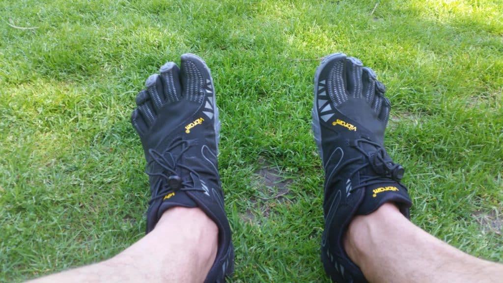 Barfuss Schuh
