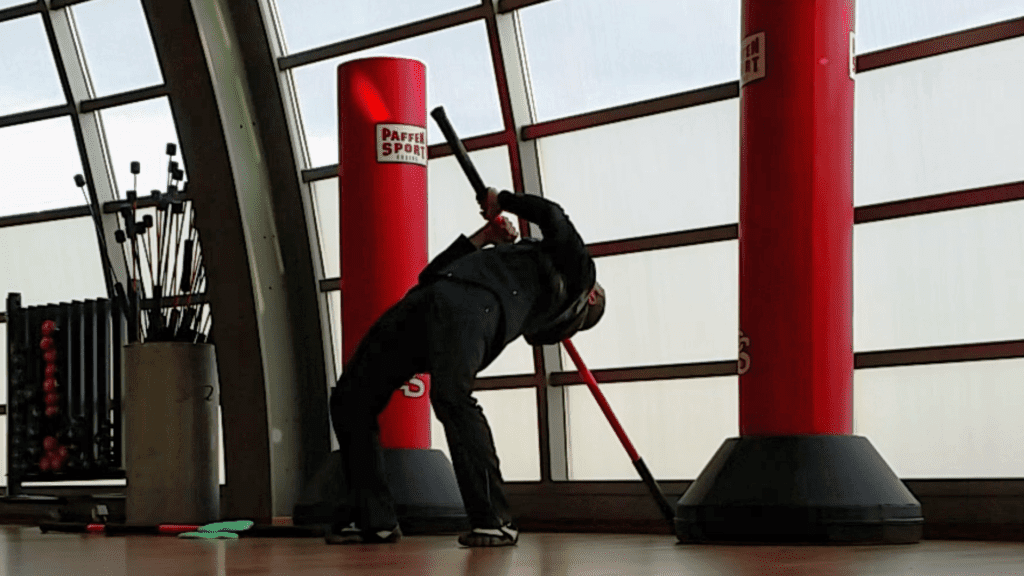 Training mit dem Stick Mobility